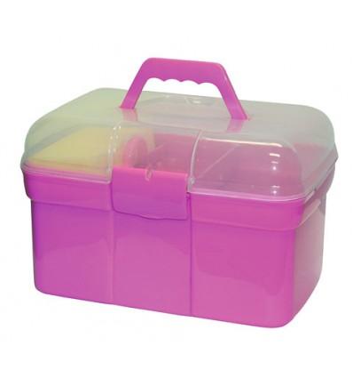 Striglekasse til børn m/8 Dele Pink