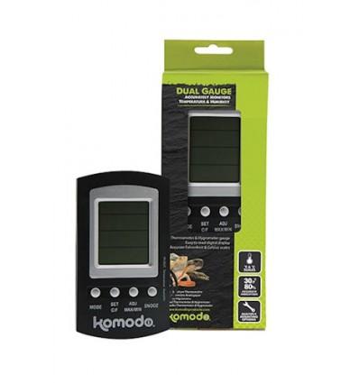 Kombinerede termometer og hygrometer. Digitalt