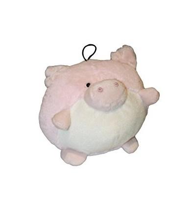 Blød rund bamse gris
