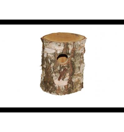 Træstamme redekasse Ø 14 cm.