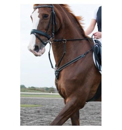 CATAGO Soft fortøj med martingal Sort Pony