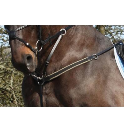 CATAGO Fortøj med martingal Sort Pony