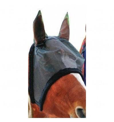 Insektmaske med foret kant - sort - Pony