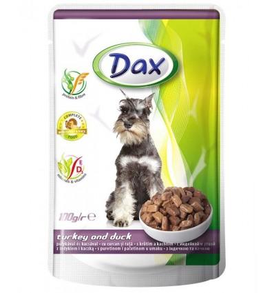 DAX vådkost kalkun & and i sovs 100 gr.