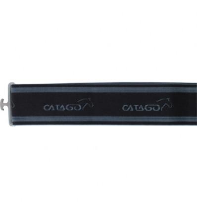 CATAGO Elastik dækkengjord Sort/Grå 105-225cm.