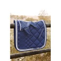 CATAGO Comfort Diamond Underlag Navy/Hvid 17""