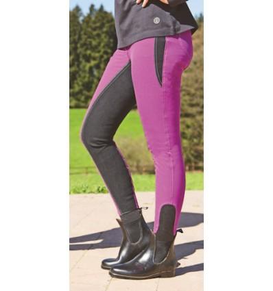 HKM Ridebuks -YVONNE- 1/1 Alos skind Pink/Sort 34