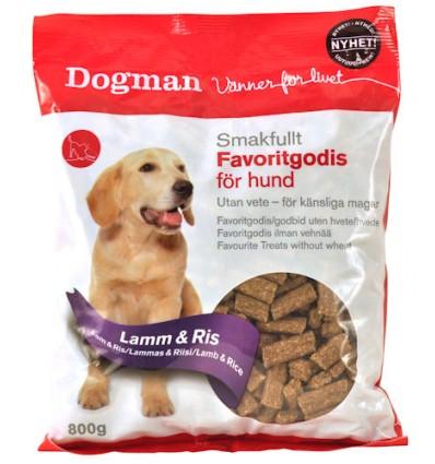 Dogman favoritgodis lam 800 gr.