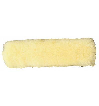 HKM Nakke- eller næsebeskytter af ægte lammeskind 30 cm Natur