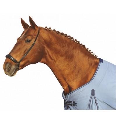 HKM Næsebånd -HANNOVER- Sort Pony