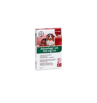 Advantage Vet Loppemiddel til hund 10-25 kg 2,5 ml