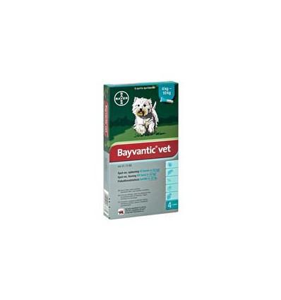 Bayvantic Vet. Hund 4-10 kg 4x1,0 ml.