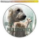 Dekal Rund Irsk Ulvehund