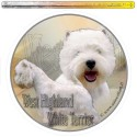 Dekal Rund West Highland White Terrier