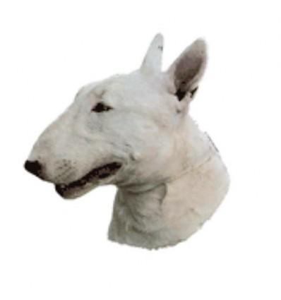 Dekal Bull Terrier Lille ca. 8 cm.