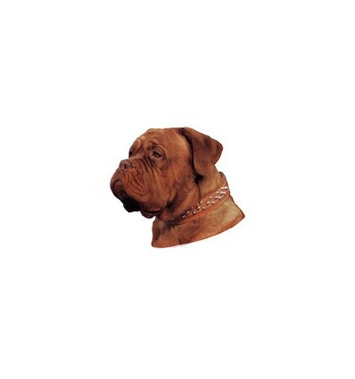 Dekal Dogue De Bordeaux Lille ca. 8 cm.