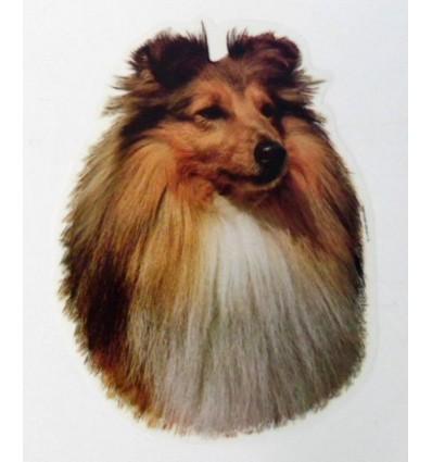 Dekal Shtlans Sheepdog Stor ca. 17 cm.