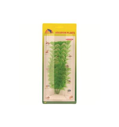 Grøn ambulia i plast. 20 cm