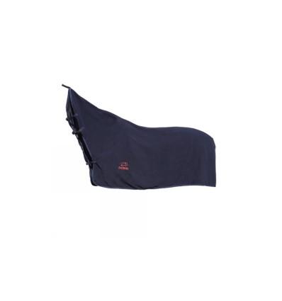 Fleecesdækken med hals Marine Blå 115 cm.