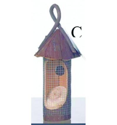 Nødde automat træ m/tag Ø 13 x 33 cm.
