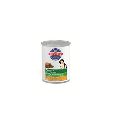 Hill's Science Plan Puppy Savoury kylling ds. 370 gr.