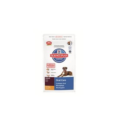 Hill's Science Plan Canine Adult Oral Care 2 kg.