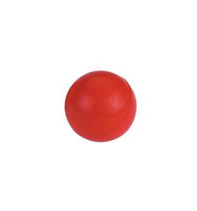 Gummi bold massiv Ø 6,5 cm. Ass. farver