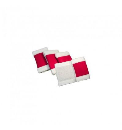 Jule Bandager Rød/Hvid One Size
