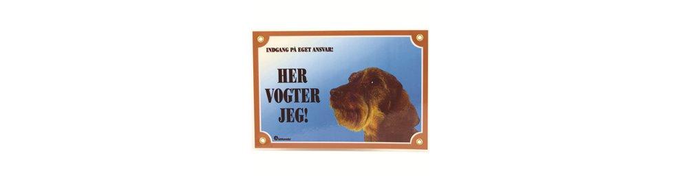 Hunde skilte og klistermærker